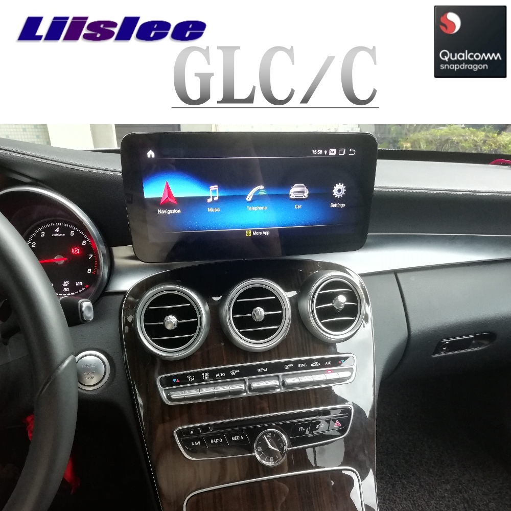 Car Multimedia Player NAVI Wireless CarPlay For Mercedes Benz C GLC W205 2014 2015 2016 2017 2018 2019 Car Radio GPS Navigation image