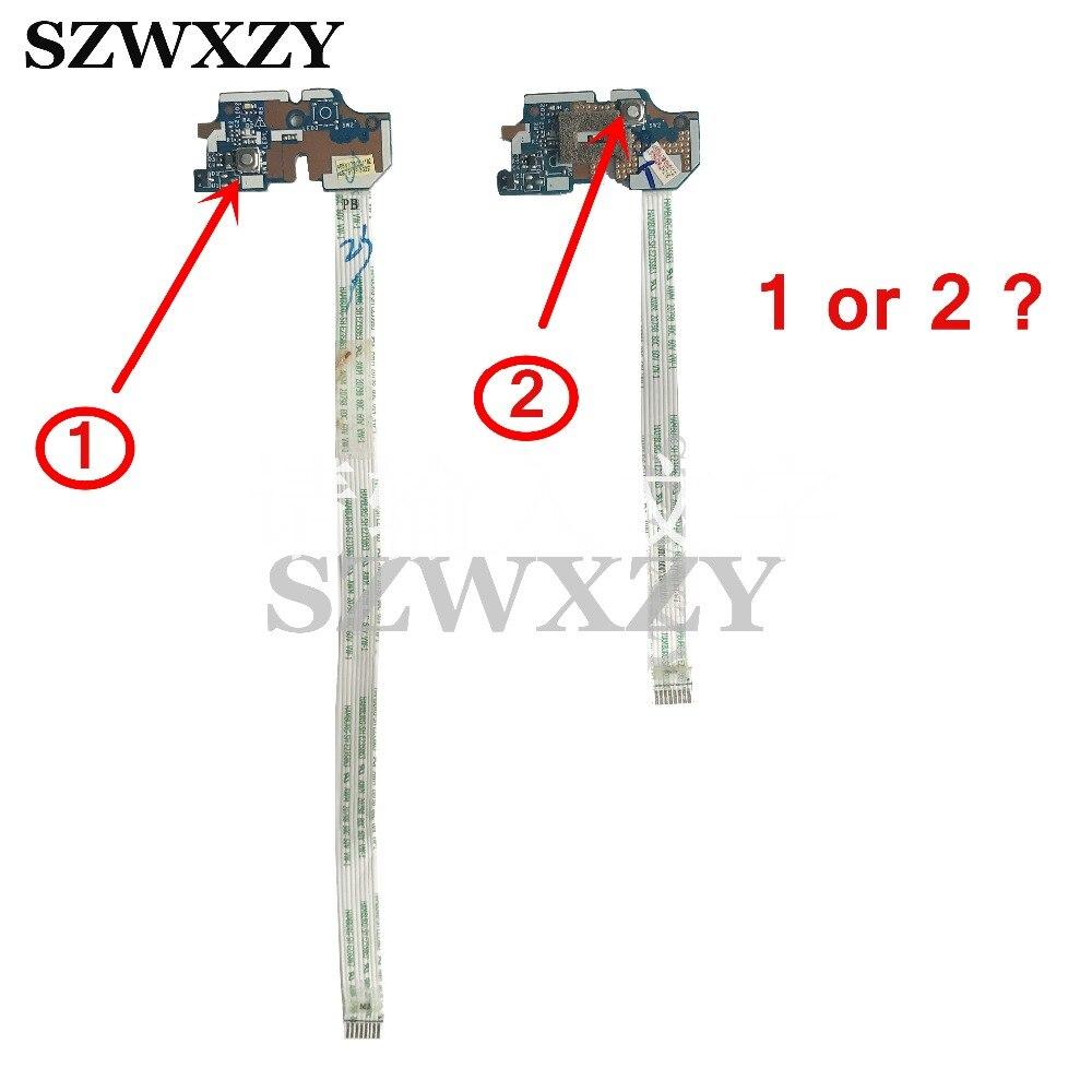 LS-7912P para acer aspire E1-531 V3-551 V3-551 V3-571 nv56r ne56r interruptor placa de botão alimentação com cabo testado completo