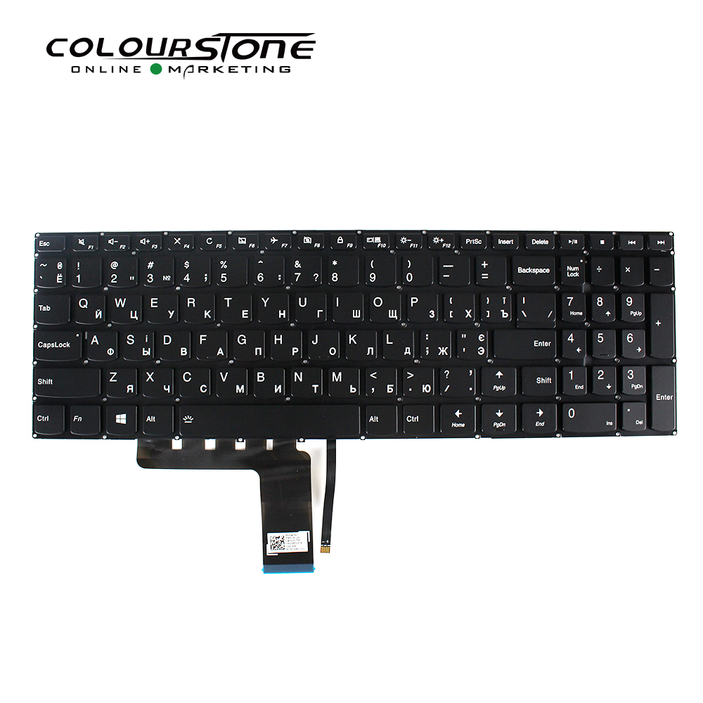 100% Brand New Laptop Keyboard 310-15ISK 310-15ABR 310-15IAP 310-15IKB Backlight Ukrainian Layout
