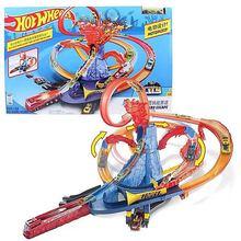 Track-Toy Hotwheels Brinquedos Voiture Children Car for Birthday-Gift 10-In-1 Oyuncak