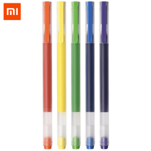 Xiaomi Mijia Super Durable Colorful Writing Sign Pen Colors Mi Pen 0.5mm Gel pen Signing Pens For School Office Drawing 5pcs