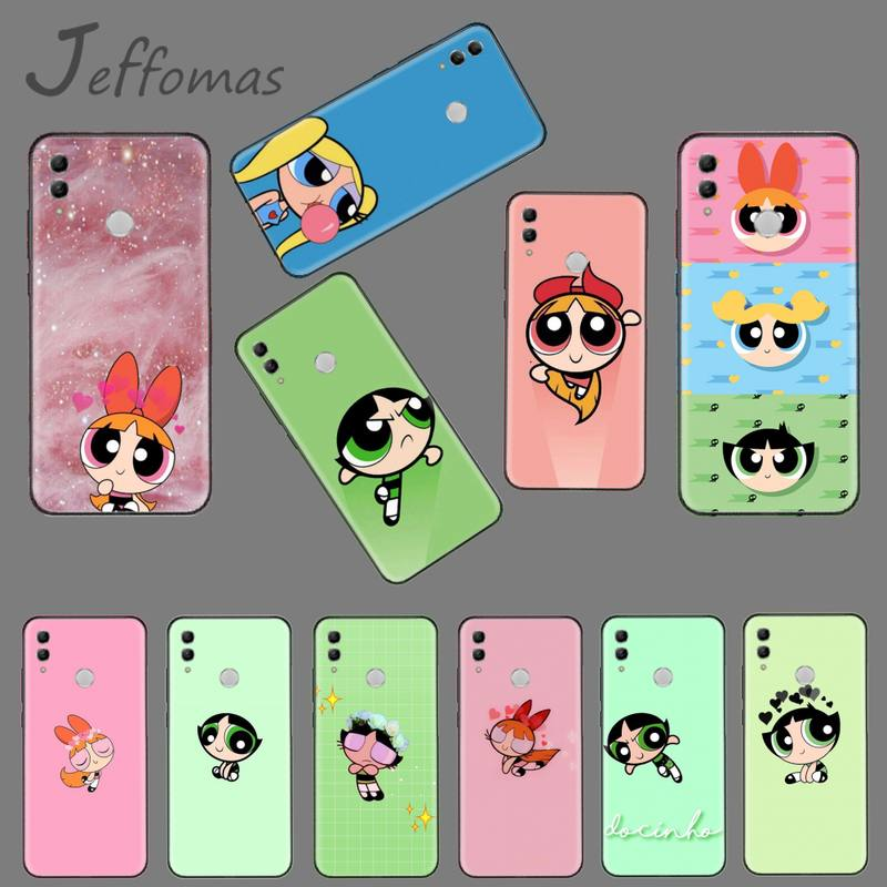 Cute USA INS Superman Girl Luxury Phone Case For Huawei Honor View 7A5.45Inch 7C5.7Inch 8X 8A 8C 9 9X 10 20 10I 20I Lite Pro