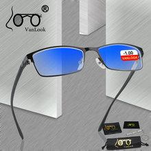 Анти синий луч света Близорукость Компьютерные очки игровые мужские очки для близоруких-1-1,25-1,75-2,25-2,75-3,25-3,75-4,00