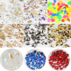 Mixed Shape 100pcs Crystal AB 3D Nail Art Rhinestones Flatback Strass Shiny Glass Nail Stones Gems For DIY Nails Art Decoration
