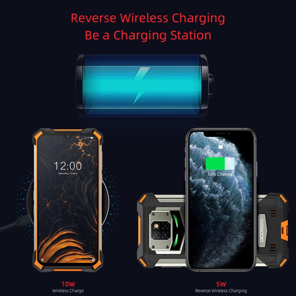IP68/IP69K DOOGEE S88 Pro Rugged Mobile Phone 10000mAh 4