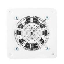 25 Вт 220V вентилятор вытяжной настенный 4 дюйма Вытяжной вентилятор низкая Шум для дома, ванны, кухни гараж, устанавливаемое на вентиляционное отверстие в салоне автомобиля вентиляции