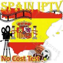 IPTV España Spainsh EPG Europa Global caja de TV inteligente PC estable ios Android M3U Enigma2 MG XXX código Panel revendedor HD FHD HEVC 4k(China)