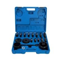 23Pc Front Wheel Bearing Installation Removal Tool Set/ Front Wheel Drive Bearing Puller Adapter Car repair tools set -