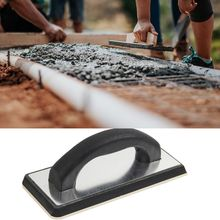 Handheld Concrete Rubber Trowel Corner Cover Stucco Dry Lining Plastering Spatula Skimming Smooth Grout Floor Tiles Tool