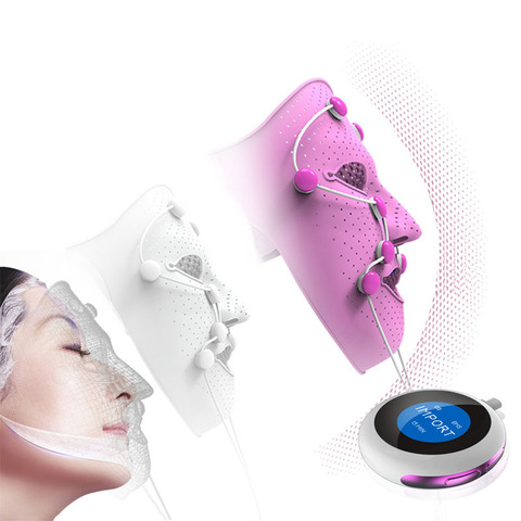 photon mascara anti idade remover acne rejuvenescimento pele rosto beleza maquina