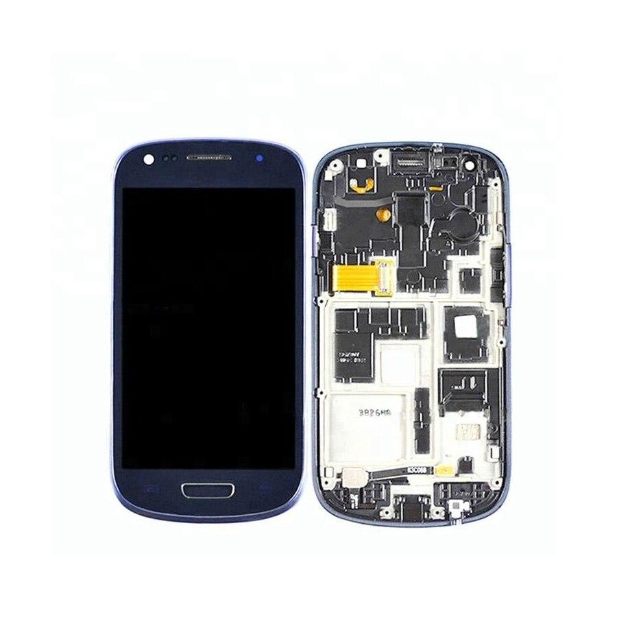 Original For Samsung S3 Mini Screen I8190 LCD Display With Frame Super AMOLED For SAMSUNG GALAXY S3 Mini I8190 I8190N Display