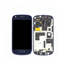 Original For Samsung S3 mini Screen i8190 LCD Display with Frame Super AMOLED For SAMSUNG GALAXY S3 Mini i8190 I8190N Display original new for samsung galaxy s3 mini gt i8190 lcd screen and digitizer assembly