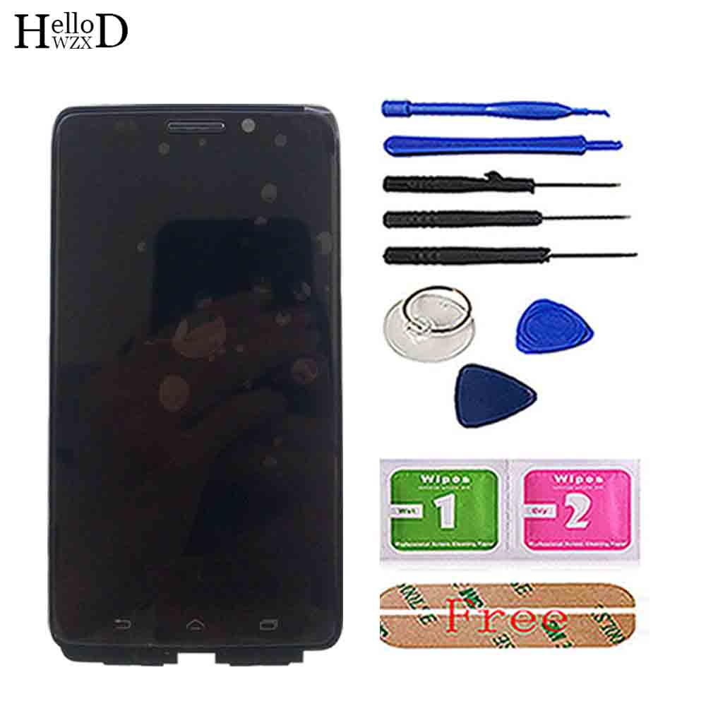 Image 2 - Phone LCD Display For Motorola Moto Droid MAXX XT1080 XT1080M LCD  Display Touch Screen Frame Digitizer Full Assembly PartsMobile Phone  Touch Panel