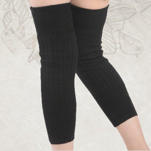 Female Knee Protecter Women Fashion Knee Sleeve Winter Warm Women Knee Socks
