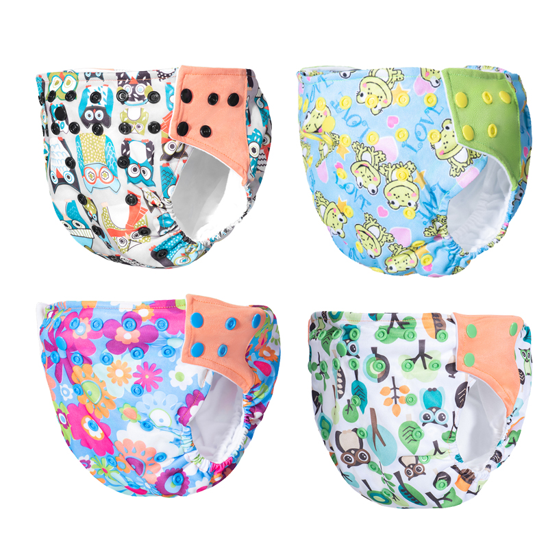 Baby Diapers Washable Reusable Nappies Training Pant Cloth Diaper Baby Version Diapers Adjustable Nappy Reusable Cloth Pocket