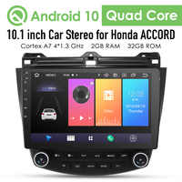 2G+32G Android 10 4G Car Radio Multimedia Player For Honda Accord 7 2003-2007 Navigation GPS Auto 2 din no dvd Cam-in dtv dvr bt