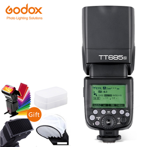 Image 2 - Godox TT685 TT685N 2.4G sans fil i ttl haute vitesse sync 1/8000s GN60 Flash Speedlite X1T N déclencheur pour appareil photo Nikon