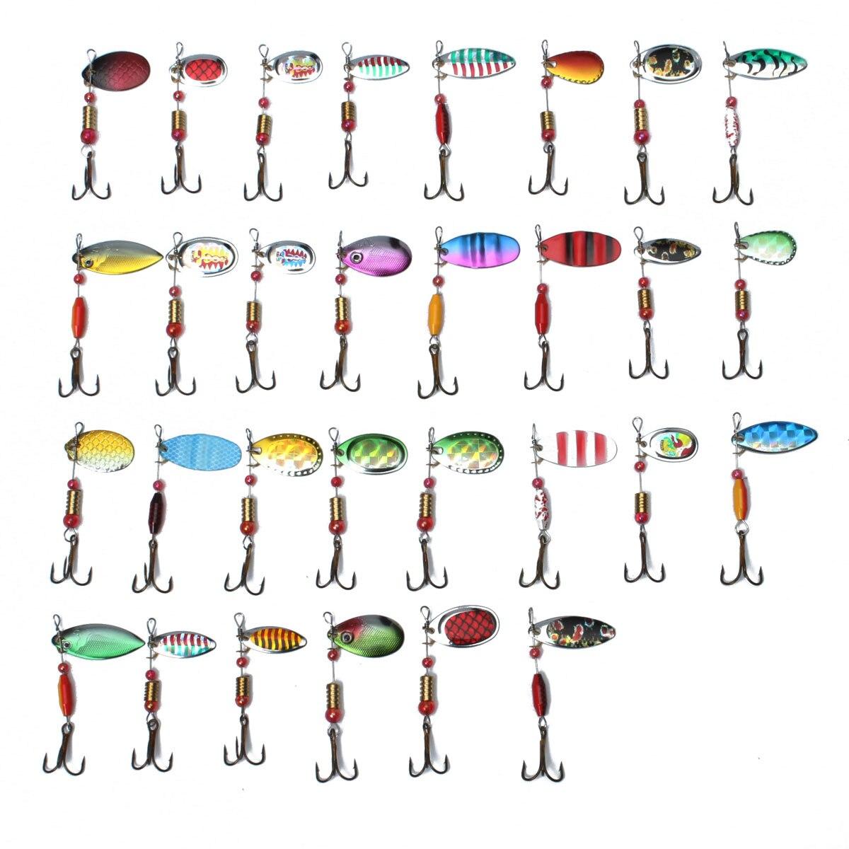 30pcs Metal Fishing Lure Set  2