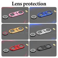 Dla Xiao mi mi 9 mi 9 mi 8 mi 8 Se kamery osłona obiektywu pierścień pokrywa dla czerwony mi K20 uwaga 7 Pro aparat Len Protector akcesoria do telefonów