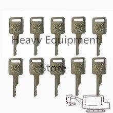 5 uds. Llave para interruptor de arranque de encendido BOBCAT ajuste minicargador MT55