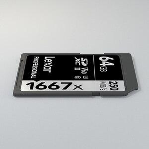 Image 5 - Lexar sd카드 메모리 150 메가바이트/초 tarjeta carte sd 64 gb 32 gb 메모리카드 마이크로sd kaart 1667x UHS II 카드 3d 4 k 디지털 카메라 용 태블릿 u3 플래시 메모리 카드 sd메모리카드 마이크로sd128 camera sd card 명함 sd메모리128 카메라 메모리 마이크로 sd