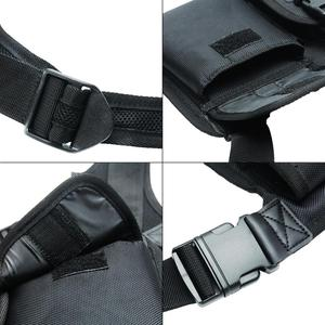 Image 4 - ABBREE สายรัดด้านหน้ากระเป๋าพกพากระเป๋าสำหรับ Baofeng UV 5R UV 82 UV 9R Plus BF 888S TYT Motorola Walkie Talkie