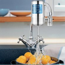 Ceramic Faucet Filter Water Purifier Cleaner Ceramic Activated Carbon for Household Home Kitchen Faucet Tap цена и фото