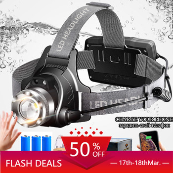 LIGHTBEK Infrared Sensor LED Headlamp Rechargeable Zoomable Rotation Light Head Torch Cree XML-T6 L2 Headlight Hiking Camping sitemap 165 xml
