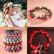 New Arrivals Flower Headbands For Girls Kids Headband Baby Hair Bands Mommy & Accessories Floral Wreath