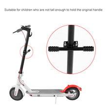 Upgrade Kid Scooter Grips Child Electric Skateboard Handle Grip Bag Bar Holder For Xiaomi M365  Grip Bar Holder Safe Kids Rail