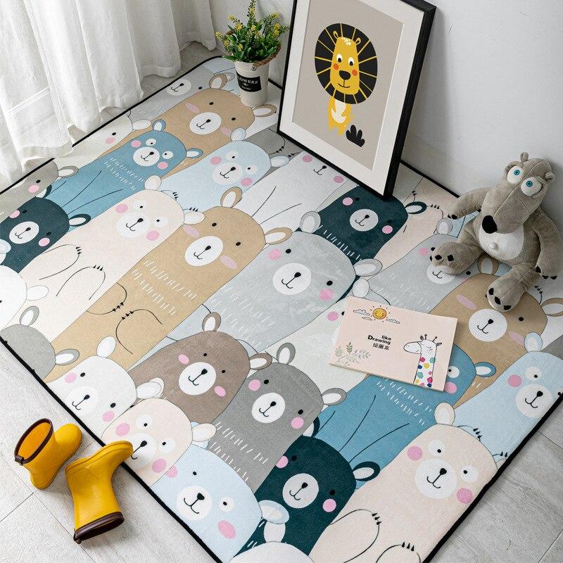 Big Offer 792fb Cute Cartoon Animals Carpet Kids Room Play Tent Area Rugs Children Bedroom Decor Carpets Living Room Non Slip Floor Mat Cicig Co