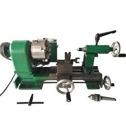 220V petit tour Machine fraiseuse Mini rectifieuse métal précision mètre outil bureau maison bricolage 350W 3-4 mâchoire 80 mandrin