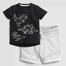 Baby Boy Clothes Set Kids 100% Cotton 2020 Summer T-shirt Pa