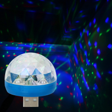 DJ RGB лампа для автомобиля-Стайлинг автомобиля светодиодный атмосферный свет декоративная лампа авто интерьерные огни USB Клубная Дискотека магический сценический эффект огни