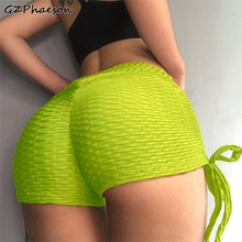 Women Short Sexy Fitness Leggings Plus Size Cotton Knitted Short Gym Clothing Workout Leggings Fitness Feminina Push Up Leggings plus size sheer lace panel short leggings