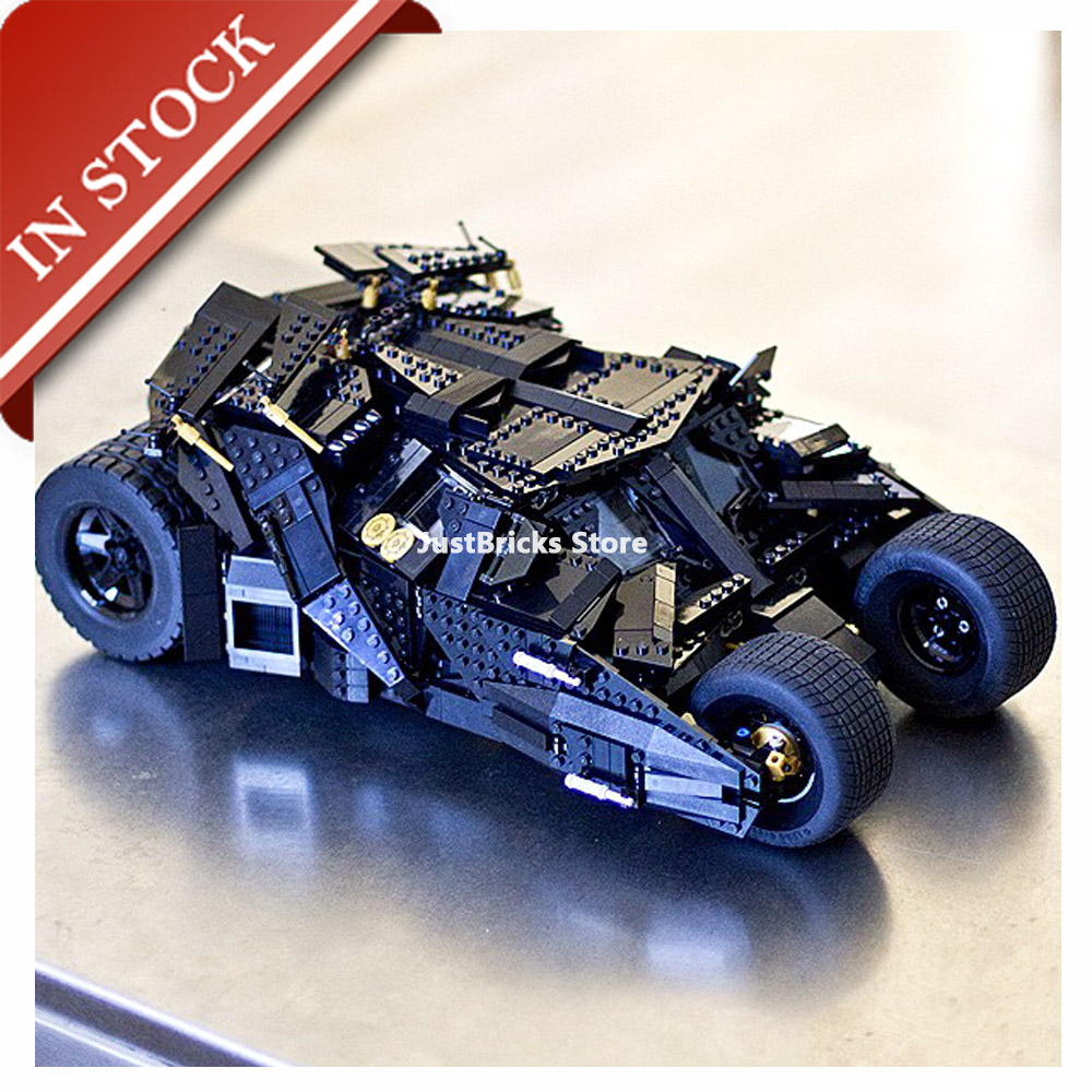 Super Heroes The Tumbler 76023 07060 In Stock Building Blocks 1800+Pcs Batman Armored Children Toys Movie