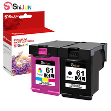 SHIJUN HP 61 61XL Remanufactured Cartucho De Tinta HP Envy 4500 5531 5530 Officejet Deskjet 1010 1510 3050 1056 3510 2540 4635 4632