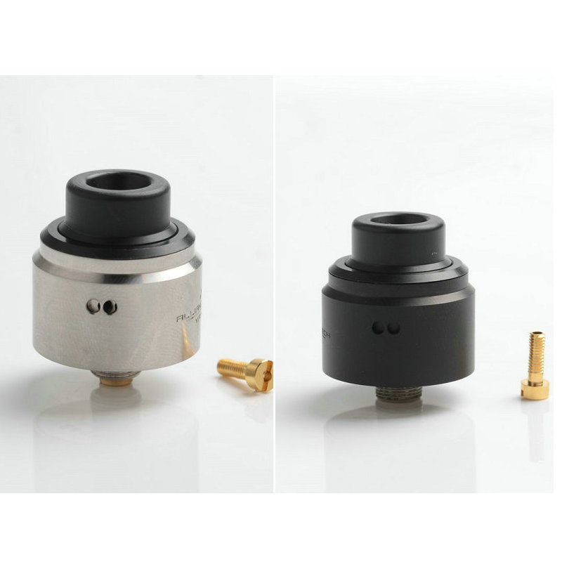 YFTK FLAVE EVO 22 RDA In 22mm Diameter 510 Driptip With 316 Stainless Steel Electronic Cigarette