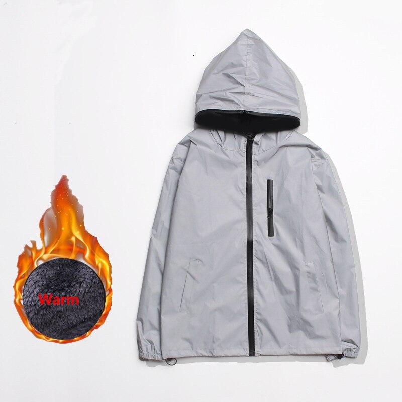 H9bf63d075190418094ca9dd398147324y 5XL 4XL Men's 3M Full Reflective Jacket Light Hoodies Women Jackets Hip Hop Waterproof Windbreaker Hooded Streetwear Coats Man