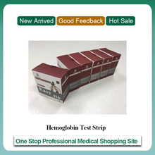 Bandelettes de Test dhémoglobine pour compteur dhémoglobine POCT (6 boîtes de bandelettes) pour équipement médical