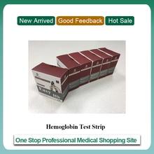 Hemoglobin Test Strips for POCT Hemoglobin Meter (6 boxs of strips) For Medical Equipment