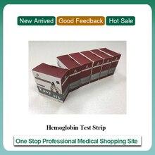 شرائط اختبار الهيموغلوبين لقياس الهيموجلوبين POCT (6 صناديق من الشرائط) معدات طبية