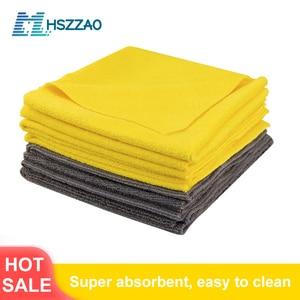Image 1 - Asciugamano in microfibra di cristallo cerato per lavaggio auto Extra morbido asciugamano per pulizia auto panno per asciugatura cura dellauto dettaglio del panno asciugamano per auto mai macchiato