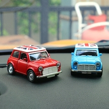 Car Styling Ornament Alloy Car Toy Interior Decoration For Mini Cooper One S JCW Car Accessoties Children Baby Gifts