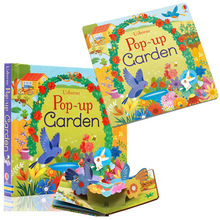 Garden 3D book Original English Educational Picture Books The Jungle For Baby Early Childhood Gifts for Children Reading Book