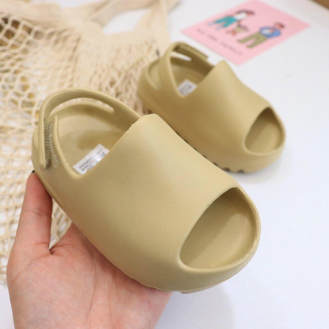 Baby Toddler Kids Adults Slip On Fashion Sandals Boys Girls Foam Beach Summer Slides Bone ResinChildren Lightweight Water Shoes|Sandals| - AliExpress