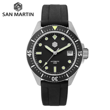 San Martin Diver Men Watch Stainless Steel NH35A Automatic M