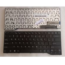 GZEELE new US English laptop keyboard for Fujitsu Lifebook E