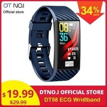 2019 Hot Sale DT NO.1 DT58 Wristband ECG PPG Bracelet Monito