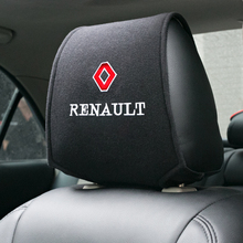 Cubierta para reposacabezas de coche, compatible con Renault koleos, duster, megane 2, logan, renault, clio, accesorios, CAPTUR
